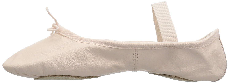 Theatrical Pink 7.5 N US Bloch Dance Womens Dansoft II Leather Split Sole Ballet Shoe//Slipper Dance