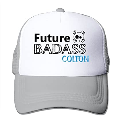 Amazon.com  Mieba Future Badass Mesh Hat Running Trucker Cap Hat Ash ... 22ac1bfc68c5