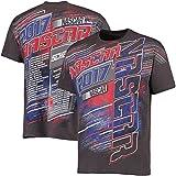 NASCAR 2017 Drivers Schedule Racing T-Shirt (NASCAR)-Charcoal-Medium
