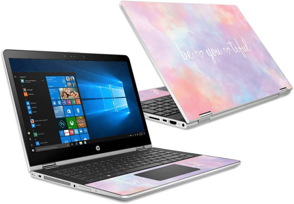 """Mightyskins Skin Compatible with Hp Pavilion X360 15.6"""" (2018) - BeYouTiful 
