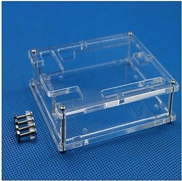 WKELECTRONDE-Caja de Caja Transparente Uno R3 Cubierta ...
