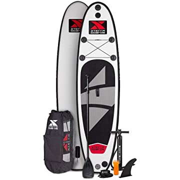 mini XTERRA Boards - Inflatable 10' Stand Up Paddle Board Bundle - Premium SUP Package