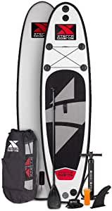 """XTERRA Boards 10' Inflatable Stand Up Paddle Board Premium SUP & Accessories Bundle 