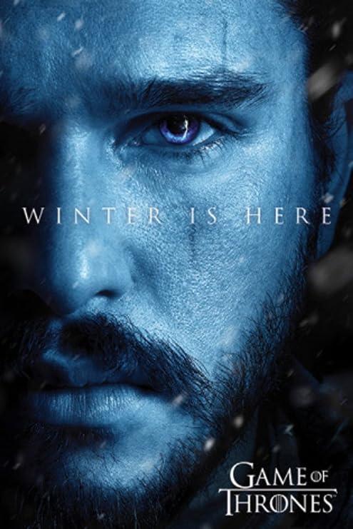 Amazon.com: Juego de Tronos temporada 7 Jon nieve invierno ...