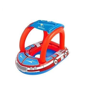 VORCOOL para niños bebé niño hinchable natación vueltas piscina flotador asiento flotador barco agua deportes: Amazon.es: Deportes y aire libre