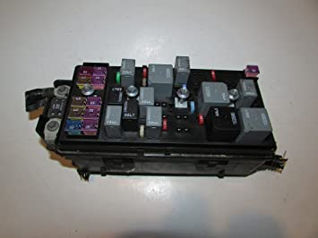 09-09 saturn aura 2 4l sedan xr under hood relay fuse box block warranty  #1921, relays - amazon canada
