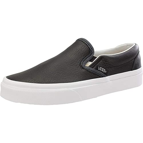 Amazon.com | Vans UA Classic Slip-On Black Lurex Gore Adult Trainers | Shoes