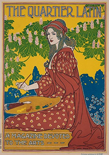 intage Poster (Artist: Rhead) France c. 1899 (12x18 Signed Print Master Art Print w/Certificate of Authenticity - Wall Decor Travel Poster) ()