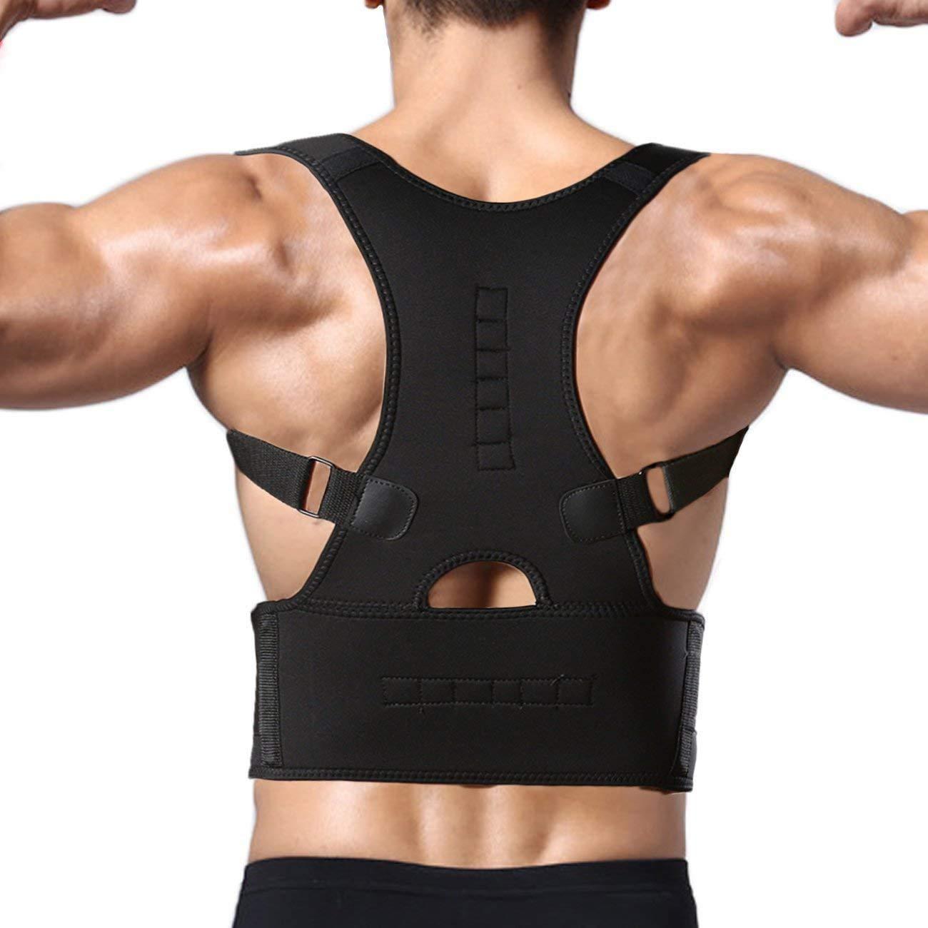 Unity Brand Magnetic Back Brace Posture Corrector Belt