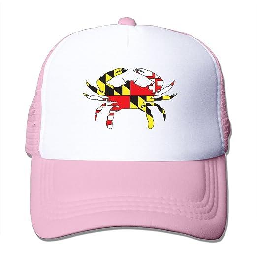 ... top quality wubgg maryland flag crab vintage mesh trucker hats hip hop  snapback hats dad hat f02fd7cad580