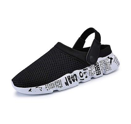 1835dad43a47 Amazon.com  Mzq-yq Men Flat Slippers