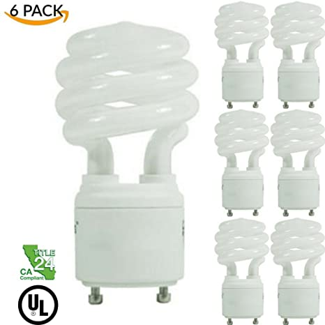 Four Bros Lighting P13sp Gu24 Cw 6pk Gu24 Base Twist And Lock Light