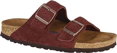 Birkenstock Arizona Soft Footbed Port Suede Sandals 42 (US Women's 11 11.5)