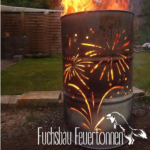 Feuerwerk - Recipiente para Hoguera: Amazon.es: Jardín