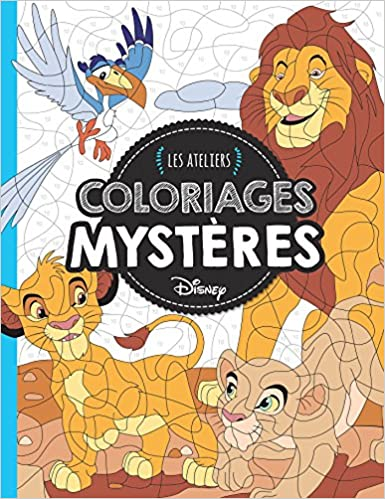 Coloriage Animaux Disney.Animaux Coloriages Mysteres Ateliers Disney Amazon Fr Eugenie
