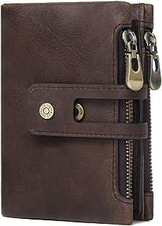 NAOSLHKJ Wallet Men's Wallet Little Men Zipper Buckle Men Short Coins Wallet Fashion