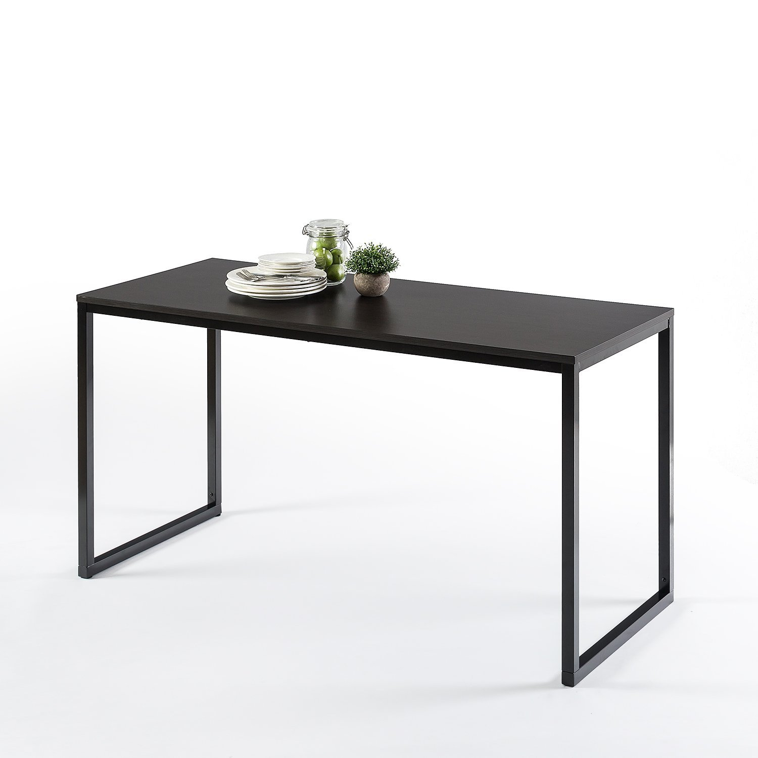 Zinus Jennifer Modern Studio Collection Soho Rectangular Dining Table / Table Only / Office Desk / Computer Table, Espresso by Zinus