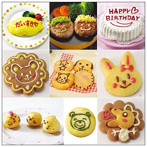 xiaolanwelc @ 3pcs/set decoración de pasteles bolígrafo Chocolate Cookies galletas molde galletas manga pastelera repostería boquillas cocina hornear ...