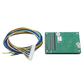 Li-ion Protection Board Lithium Battery Charging Board 14S 45A Battery Cell Protection Board BMS PCB Protection Board Charger Module
