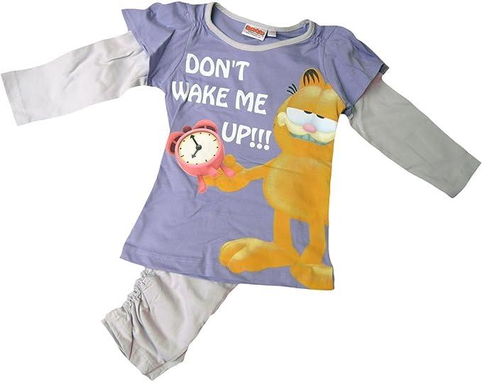 Garfield Pijama – Don t Wake Me Up. – Lila/gris Multicolor multicolor