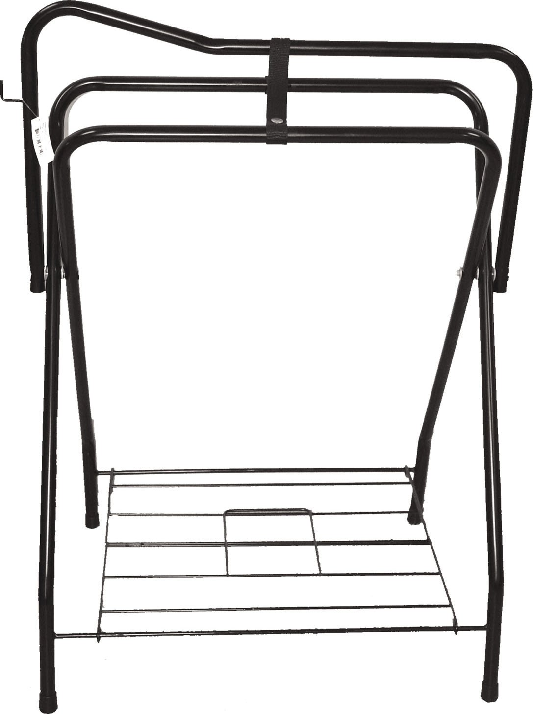 PARTRADE 248032/248031 Western Saddle Rack, 19 by 36 by 25'', Black
