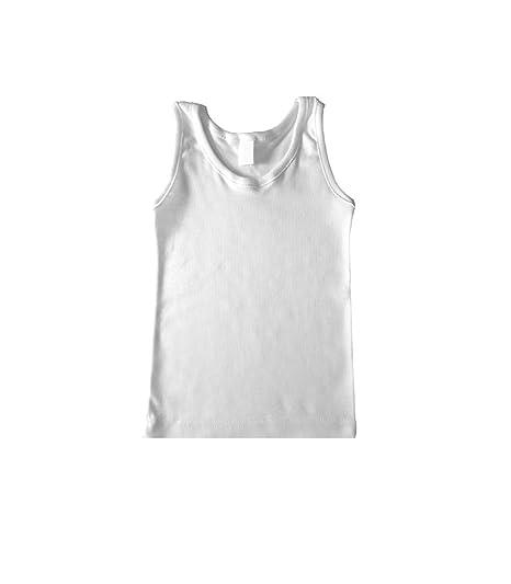 Camiseta interior niño Rapife (4, Blanco)