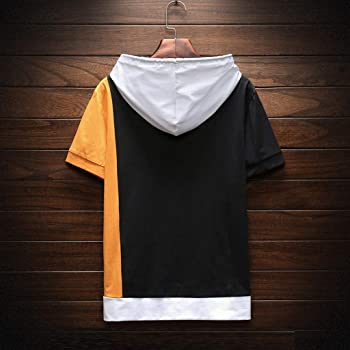 VBWER - Camiseta de Manga Corta para Hombre Amarillo XXL: Amazon ...