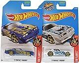 77 pontiac firebird - Hot Wheels 2017 HW Flames '77 Pontiac Firebird 5/10, Set of 2, Purple & White variations