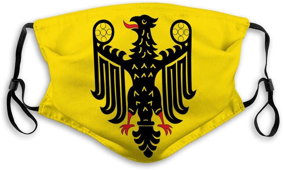fgdhfgjhdgf Unisex Gesichtsmundschutz f/ür Kinder Teenager M/änner Frauen Flagge von Goslar in der unteren Sachsen Deutschland Unisex Gesichts Mundschutz f/ür Kinder Teenager M/änner Frauen