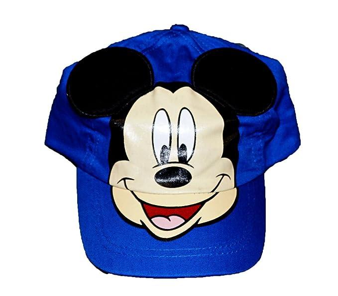 Amazon.com  Disney Mickey Mouse With Pop - Up Ears Baby Boys ... 7902e29869f