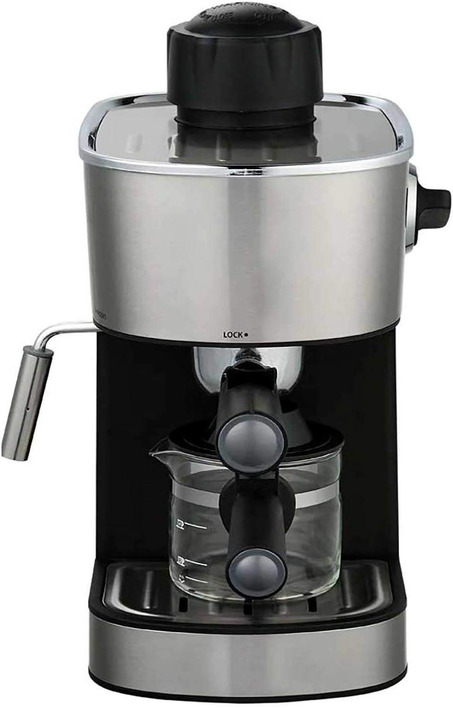 Powerful steam Espresso and Cappuccino Maker Barista Express Machine Black - Make European Espresso 61drbbcVECL