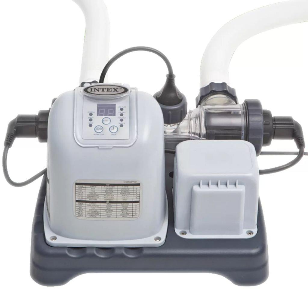 Intex Sistema de cloración salina Krystal Clear ECO 28670GS