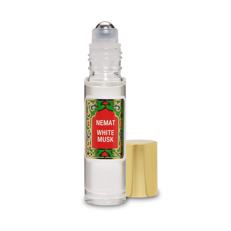 White Musk Perfume Oil - White Musk by Nemat Fragrances (10ml /0.33 Fl Oz)