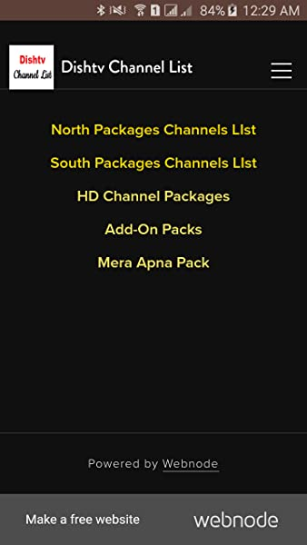 Dishtv Channel List:Amazon com au:Mobile Apps