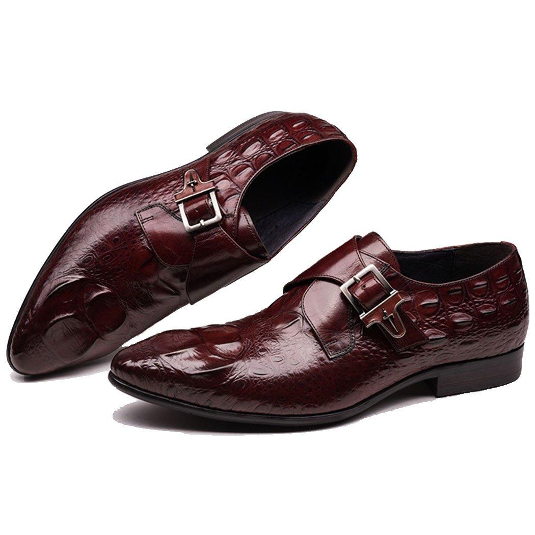 GAOLIXIA Herren Echtes Leder Business Casual Schuhe Britischen Spitz Formale Arbeit Schuhe Kleid Schuhe Große Größe