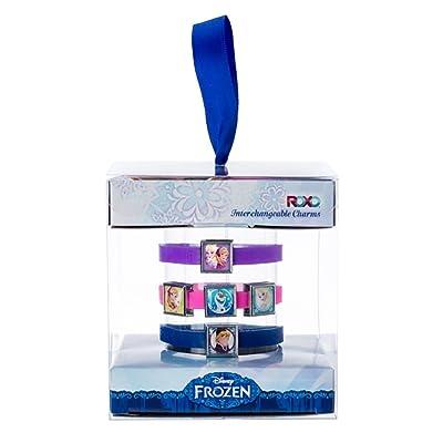 Roxo Disney Frozen Interchangeable Charm Bracelets Gift Box Set - Small Bracelets: Toys & Games