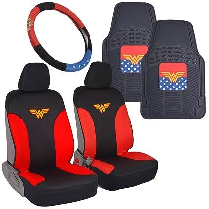 BDK Wonder Woman Car Accessories Pack