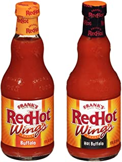 product image for Frank's RedHot Wing Sauce Variety Pack, Buffalo and Hot Buffalo, Pack of 2