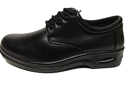 Brix Mens Oil Resistant Anti Slip Restaurant Working Shoes With Air