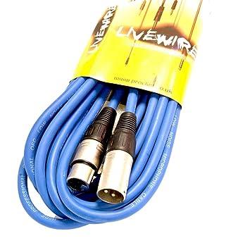 Proel Livewire 6m XLR-XLR Signal/DMX/Microphone/Instrument Cable ...
