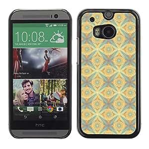 ZECASE Funda Carcasa Tapa Case Cover Para HTC One 2 M8 No.0000257