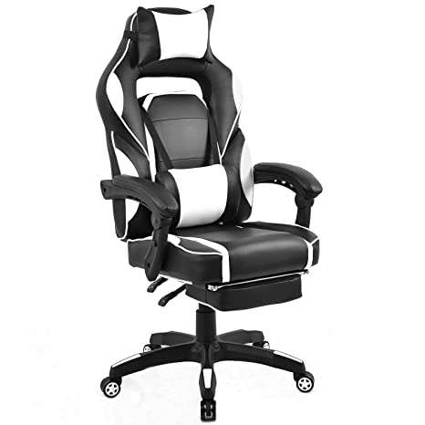 Fabulous Amazon Com Xiao Tian Gaming Chair Ergonomic Designr Pu Bralicious Painted Fabric Chair Ideas Braliciousco