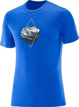 SALOMON X ALP Graphic SS M - Camiseta Hombre: Amazon.es: Ropa y accesorios
