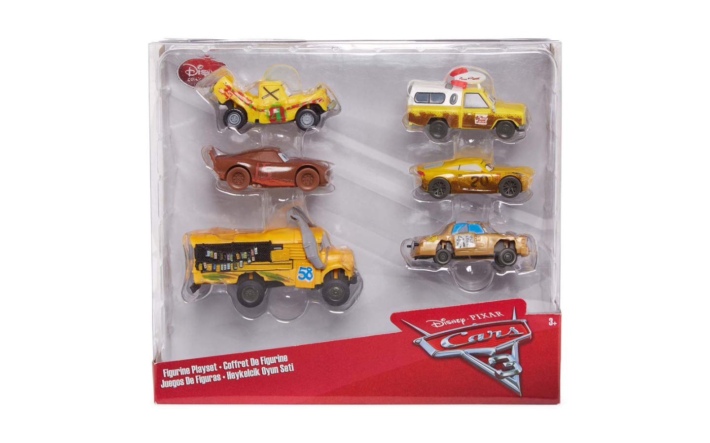 Disney Collection Cars 3 Figurine Playset