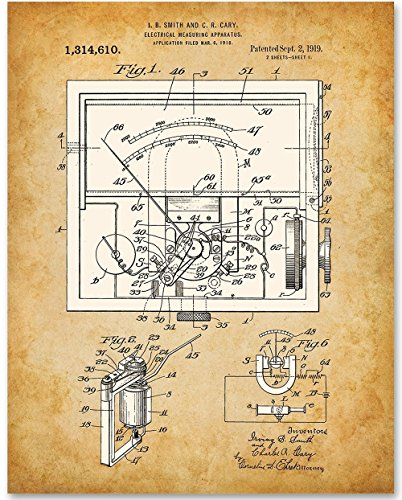 electrical-meter-1919-11x14-unframed-patent-print-great-gift-electricians-and-inventors