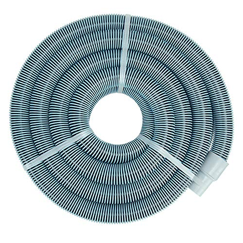 Pool Central Blue Extruded EVA In-Ground Swimming Pool Vacuum Hose with Swivel Cuff - 50' x 1.5