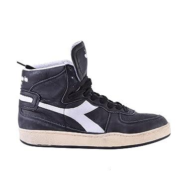 Diadora Heritage Herrenschuhe Herren Leder Schuhe High Sneakers trident mid  s sw Schwarz EU 39 158569 dde343360b