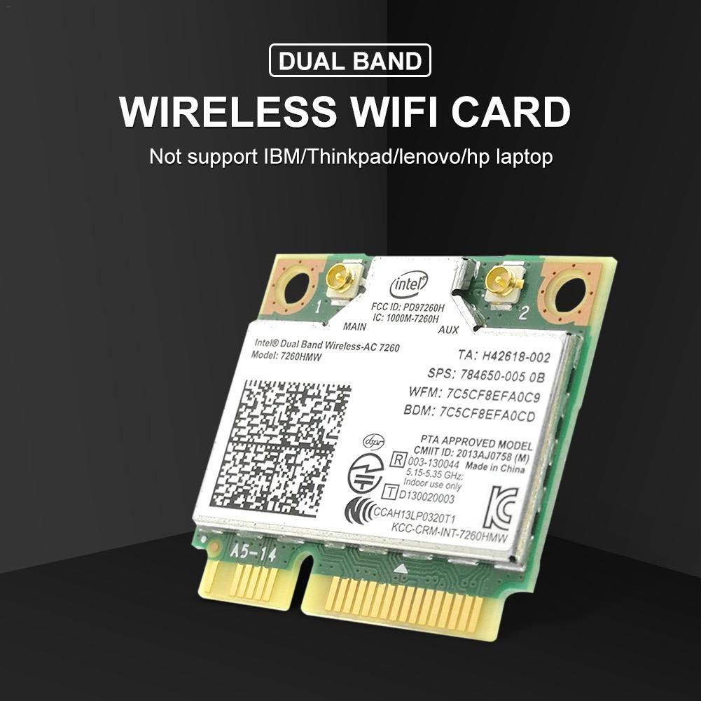 StageOnline - Tarjeta WiFi para Ordenador portátil, Doble ...