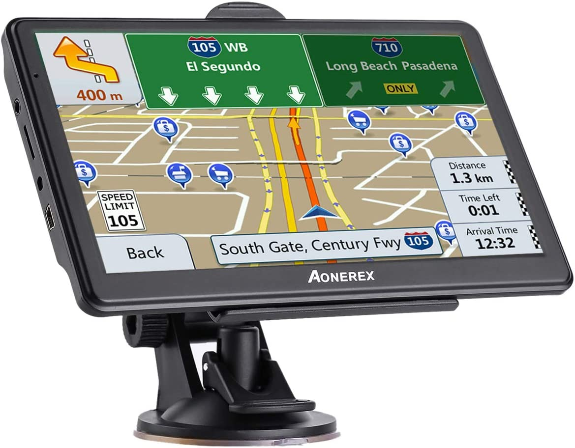 Sat Nav 2020 Improved Version 7 Hd Capacitive Touch Screen Gps Navigation System With 8g Memory Sunscreen Free Lifetime Maps Navigation Car Hifi
