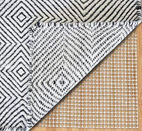 DEARTOWN Non-Slip Area Rug Pad Mat Underlay Multipurpose for Hard Surface Floor Trim The Pad (5'x 8')